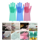 Magic Silicone Rubber Dish Washing Gloves Eco-Friendly Scrubber Cleaning Brush