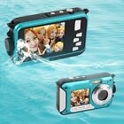 2.7  Digital Camera Waterproof 24MP 1080P Double Screen Under Water Camcorder AZ