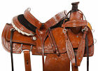 Roping Saddle 15 16 Western Team Roper Trail Riding Matching Leather Horse Tack