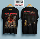 new Iron Maiden Legacy Of The Beast Tour 2019 Black T Shirt S - 5XL