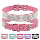 Crystal Dog Collars Fancy Small Bling Dog Collar Dog Cat Necklace with XS S M H0