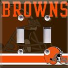 Football Cleveland Browns Themed  Light Switch Plate Cover ~ Choose Your Cover on eBay