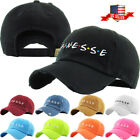 Finesse Embroidery Dad Hat Baseball Cap Unconstructed Cotton