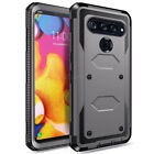 For LG V30 V40 ThinQ V20 V10 Phone Case Shockproof Hybrid Rubber Hard Slim Cover