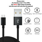 Fast Charging Micro USB Charger Data Cable Samsung Galaxy S7 Edge S6 S5 Note 6 5