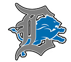 Detroit Lions vinyl sticker for skateboard luggage laptop tumblers  (g) on eBay