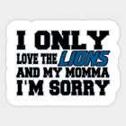 Detroit Lions vinyl sticker for skateboard luggage laptop tumblers car (m) on eBay
