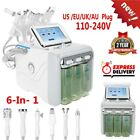 6 in 1 Water Dermabrasion Professional Hydro Dermabrasion Hydra Facial Machine