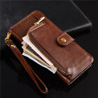 Luxury PU Leather Purse Zipper Wallet Case Card Cash Holder For Oukitel C12 Pro