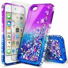 iPod Touch 5th Generation Case   Glitter Liquid Bling Cover   Screen Protector