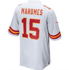 Men's Kansas City Chiefs #15 Patrick Mahomes White 2018 Football Jersey S-3X