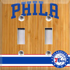 Basketball Philadelphia 76ers Light Switch Plate Cover ~ Choose Your Cover ~ on eBay