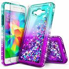 For Samsung Galaxy J7 / J7 Neo / J7 NXT Case | Liquid Glitter Bling Phone Cover