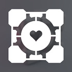 Companion Cube Logo / Portal / Glados / Vinyl Decal Sticker