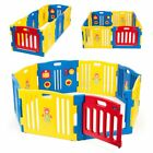 baby playpen adjustable kids 8-panel safety play center yard cage Activity Board