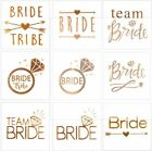 Bridal Bachelorette Party Temporary Body Tattoo Sticker