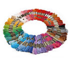 300 Hot Multi Colors Cross Stitch Cotton Embroidery Thread Floss Sewing Skeins