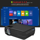 "Mini 1080P 100"" Portable Home Theater Beamer Movies LED Projector USB/AV HD T5P9"