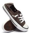 Converse Womens Chuck Taylor All Star Shoreline Slip-On 543202F Charcoal / Black