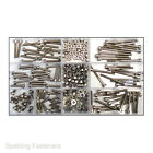 320 Assorted M3 A2 Stainless Steel Socket Cap Allen Screws Nuts & Washers