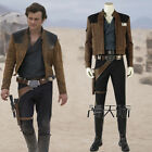 Solo A Star Wars Story Han Solo Cosplay Costume Jacket Pants Shirt Boots Prop $48.05 USD on eBay