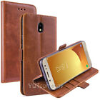 For Samsung Galaxy J7 2018 2017 Refine Crown Star Wallet Leather Flip Case Cover