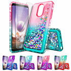 Внешний вид - For LG Stylo 3 / 3 Plus Case | Liquid Glitter Bling Cover + Screen Protector