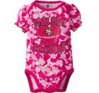 GERBER SAN FRANCISCO 49ERS NFL Football Baby Girl's Pink Camo Onesie - BRAND NEW