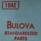 Bulova 10AE Standardized Watch Parts For Repair Watchmakers Estate - See List image