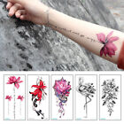 Hot Womens Waterproof Temporary Tattoos Large Arm Fake Transfer Tattoo Stickers