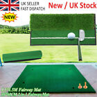 GOLF DRIVING PRACTICE MAT - FAIRWAY /Double-sided - Commercial Rubber Golf Grass