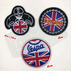 Triumph Union Jack biker rider Motorsports Iron on Embroidered Patch £1.98 GBP on eBay