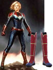 Hot! Captain Marvel Cosplay Boots Ms.Marvel Carol Shoes Halloween