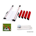 UK Speed Trap Base Golf Swing Training Aid 4 Rods Hitting Practice Tool Trainer