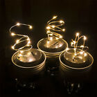 Fashion Color Changing LED Fairy Light Solar Mason Jar Lid Lights Garden Decor