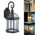 Vintage Rustic Lantern Lamp Wall Sconce Light Fixture Outdoor Decoration E26 BE