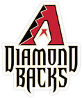 Arizona Diamondbacks sticker for skateboard luggage laptop tumblers car(d) on Ebay