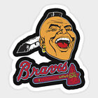 Atlanta Braves sticker for skateboard luggage laptop tumblers car(c) on Ebay