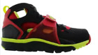 Nike Air trainer HUARACHE Black/volt/red 679083-020 men training size 8-13