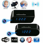 HD 1080P Wifi IP Spy Hidden Wireless Camera Motion Security Alarm Clock IR Cam