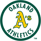 Oakland Athletics vinyl sticker for skateboard luggage laptop tumblers car (b) on Ebay