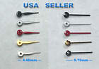 New Sub-Seconds watch hands repairs parts Black Gold Red Silver White 5 Sizes  image
