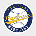 San Diego Padres vinyl sticker for skateboard luggage laptop tumblers car b on Ebay