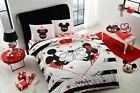 double queen size bedding set duvet quilt cover set disney mickey minnie mouse 1 image