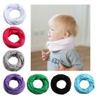 Внешний вид - Kid Boys Girls Spring Autumn Winter Collar Baby Scarf Cotton O Ring Neck Scarves