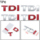 Emblem Badge Tdi Chrome  Vehicle Tailgate  3d Auto Decal Car Sticker Trunk Lid
