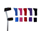 Comfy Crutch Arm Covers - Sleeves - Cuffs - Elbow - Handle - Crutches - Fleece