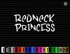 Redneck #4 Princess Girl Cowgirl Up Country Cute Car Decal Window Vinyl Sticker
