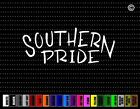 Southern Pride Cowboy Cowgirl Up Redneck Country Car Decal Window Vinyl Sticker