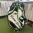 Authentic SuperStroke Tour Cart Bag - White / Black / Green